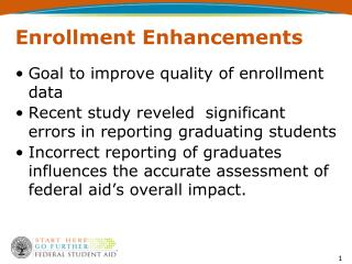 Enrollment Enhancements