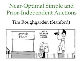 Near - Optimal Simple and Prior-Independent Auctions