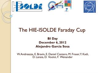 The HIE-ISOLDE Faraday Cup