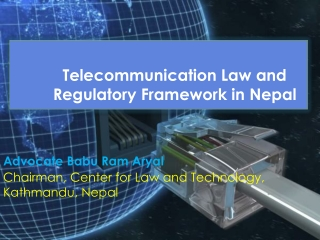 Regulation  Liberalization in Telecommunication Services