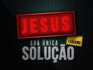 Jesus não é uma opção, Ele é a solução!