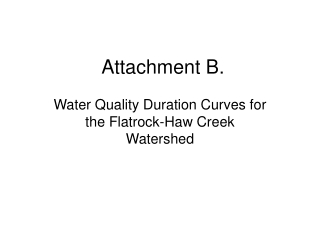 Attachment B