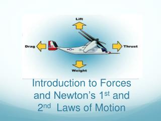 Introduction to Forces  and Newton's 1 st  and 2 nd Laws of Motion