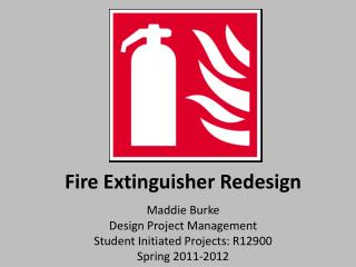 Fire Extinguisher Redesign