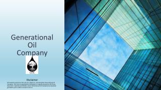 Generational Oil Company