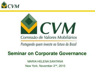 Seminar on Corporate Governance