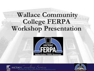 FERPA Overview PowerPoint