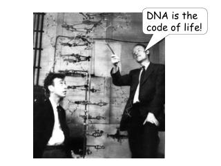 DNA is the code of life!