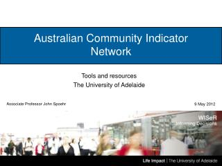 Australian Community Indicator Network