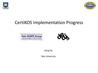 CertiKOS  Implementation Progress