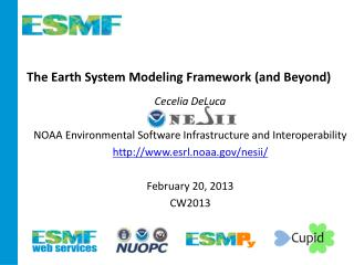 The Earth System Modeling Framework (and Beyond)