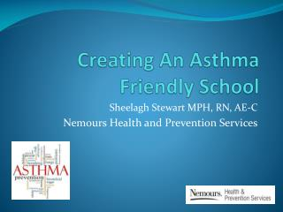 Creating An Asthma Friendly School