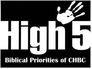 Biblical Priorities of CHBC