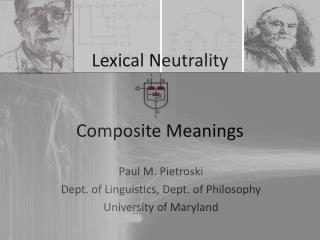 Lexical Neutrality Composite  Meanings
