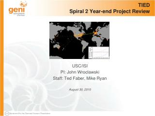 TIED Spiral 2 Year-end Project Review