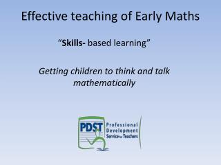 Effective teaching of Early Maths