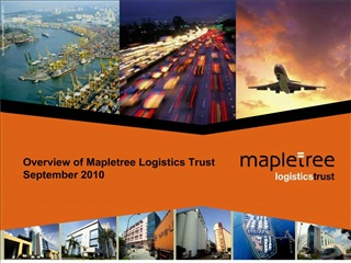 Overview of Mapletree Logistics Trust September 2010
