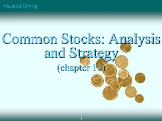 Common Stocks: Analysis and Strategy (chapter 11)