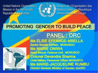United Nations Organization Mission in the Democratic Republic of the Congo