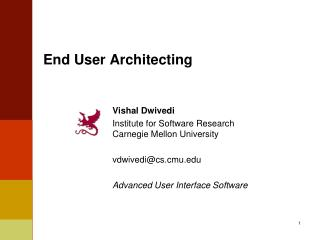 End User Architecting