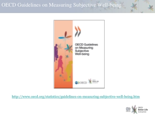 OECD Guidelines on Measuring Subjective Well-being
