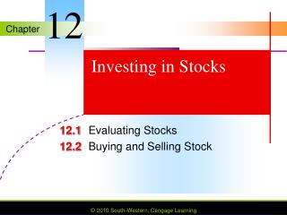 Investing in Stocks