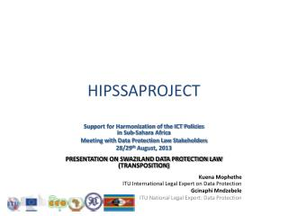 HIPSSAPROJECT