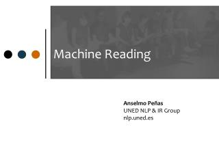 Machine Reading