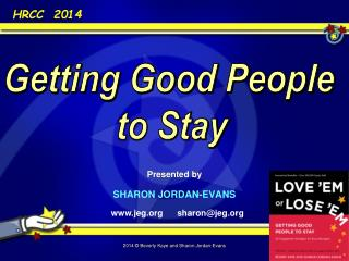 Presented by SHARON JORDAN-EVANS