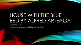 House with the blue bed by Alfred Arteaga