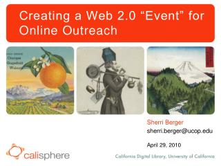 """Creating a Web 2.0 """"Event"""" for Online Outreach"""