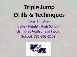 Triple Jump  Drills & Techniques