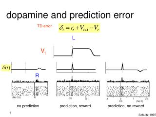 dopamine and prediction error