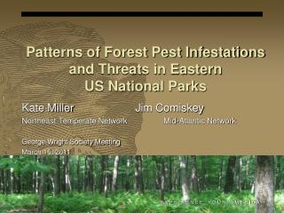 Patterns of Forest Pest Infestations and Threats in Eastern US National Parks
