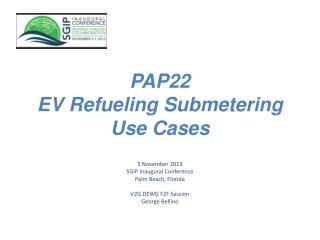 PAP22  EV Refueling Submetering  Use Cases