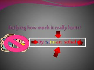 Bullying how much it really hurts!