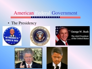 American National Government  Lecture 3