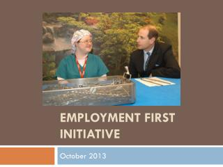 Employment First initiative