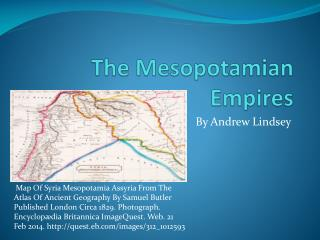 The Mesopotamian Empires