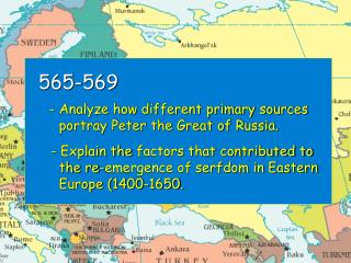565-569 - Analyze how different primary sources