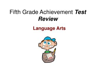 Fifth Grade Achievement  Test Review