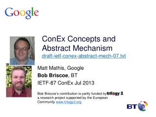 ConEx  Concepts and Abstract Mechanism draft-ietf-conex-abstract-mech-07.txt