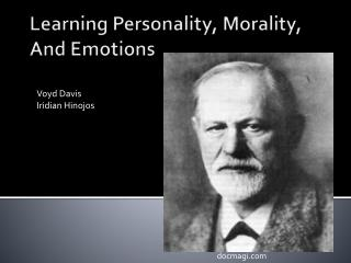Learning Personality, Morality, And Emotions