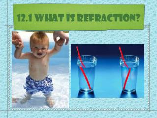 12.1 What is Refraction?