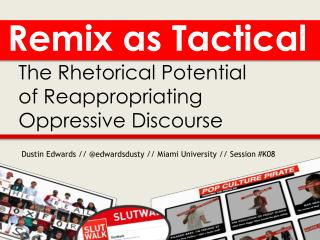 R emix as Tactical