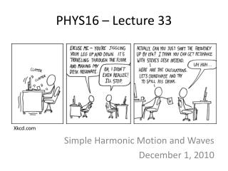 PHYS16 – Lecture 33