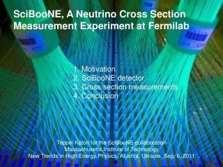 SciBooNE, A Neutrino Cross Section Measurement Experiment at Fermilab