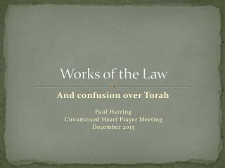 Works of the Law