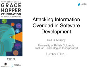 Attacking Information Overload in Software Development