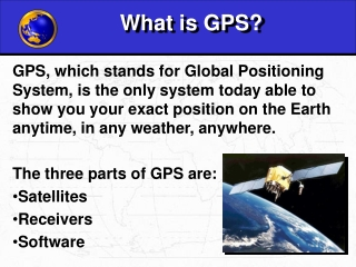 What is GPS?